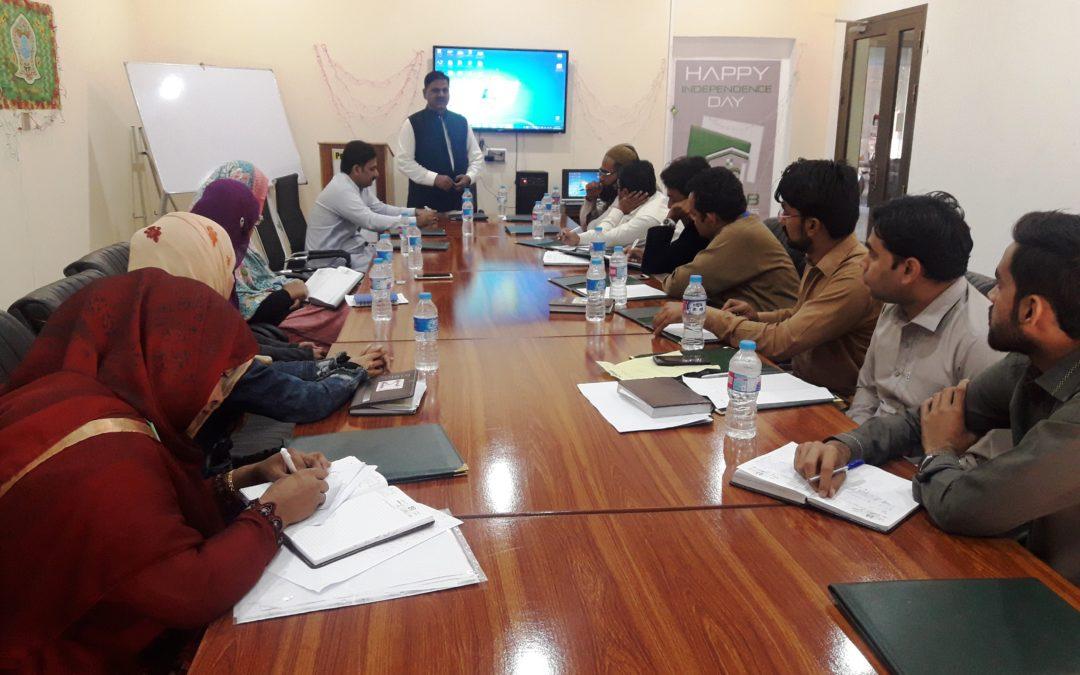 آفس پنجاب ڈویلپرز میں جنرل میٹنگ کا انعقاد کیا گیا