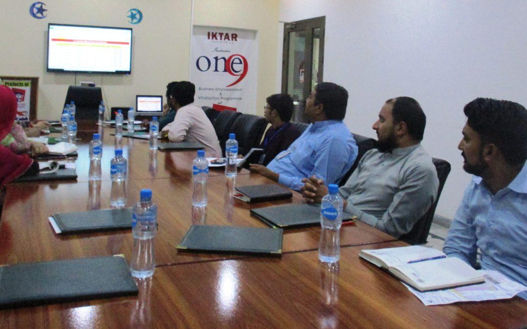 Weekly Staff Meeting in Punjab Developers