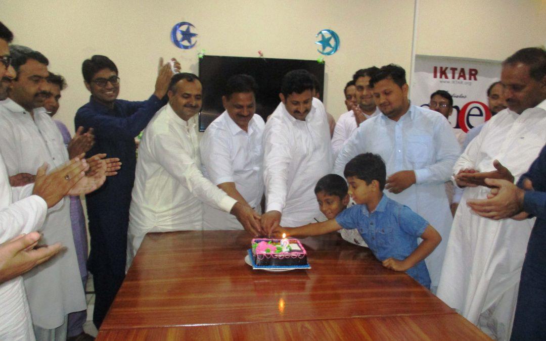 پنجاب ڈویلپرز اور پاکستان کی سال گرہ کا کیک کاٹا گیا