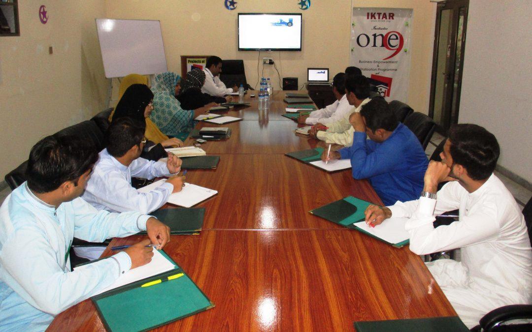 آفس پنجاب ڈویلپرز میں ہفتہ وار میٹنگ