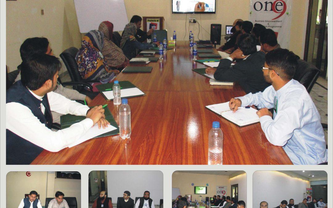Weekly Staff Meeting Held in Office Punjab Developers