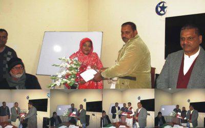 آفس پنجاب ڈویلپرز میں بیسٹ پرفارم کرنے والے سٹاف کو انعامات دے گئے