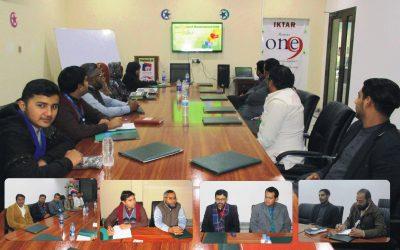 آفس پنجاب ڈویلپرز میں جنرل اسٹاف میٹنگ منعقد کی گئی۔