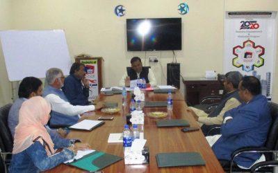آفس پنجاب ڈویلپرز میں بورڈ آف ڈائریکٹرزمیٹنگ منعقد کی گئی