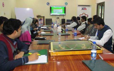 آفس پنجاب ڈویلپرز میں جنرل اسٹآف میٹنگ منعقد کی گئی