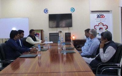 آفس پنجاب ڈویلپرز میں  بورڈ آف ڈائریکٹرز کی میٹنگ منعقد کی گئی